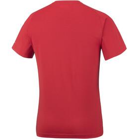 Columbia M's Mountain Tech III SS Crew Shirt red spark